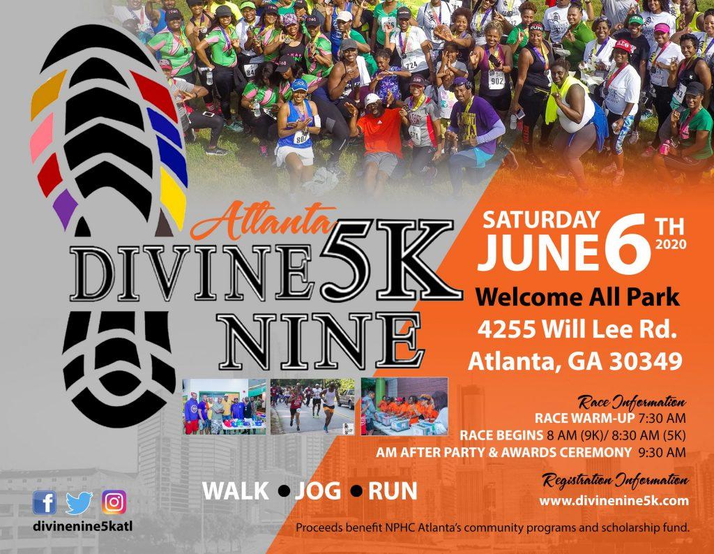 2020 Divine Nine 5K|9K ATLANTA